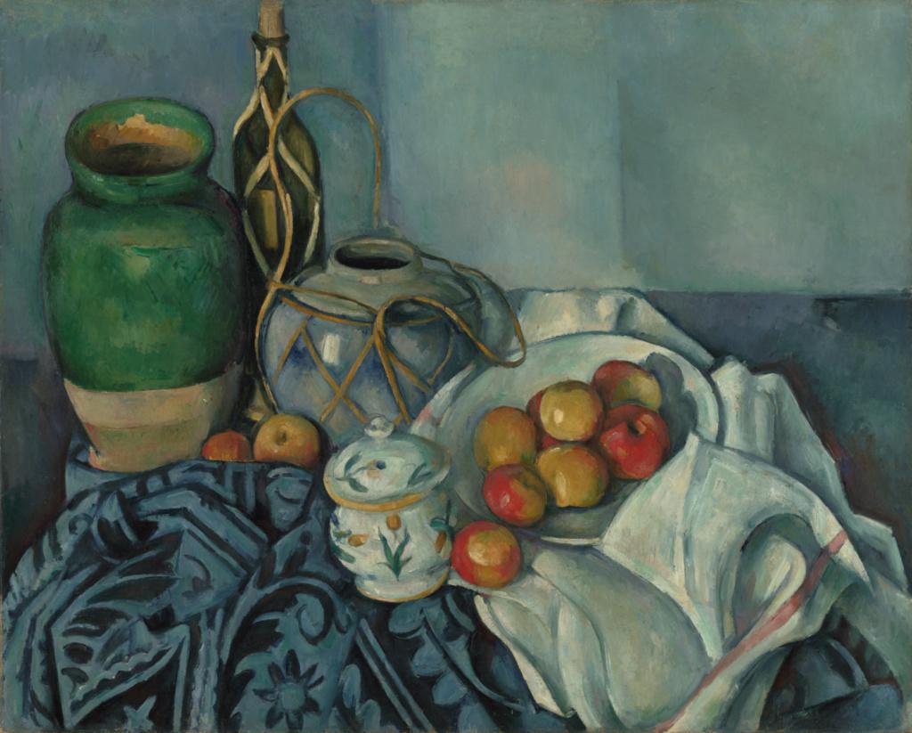 Nature Morte avec pommes - Paul Cézanne